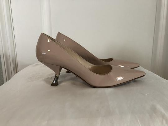 Prada Lounoutin Pointed Toe Pigalle Kitten Nude Cipria Pumps Image 5