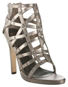 Dolce Vita Dark Metallic Silver Sandals