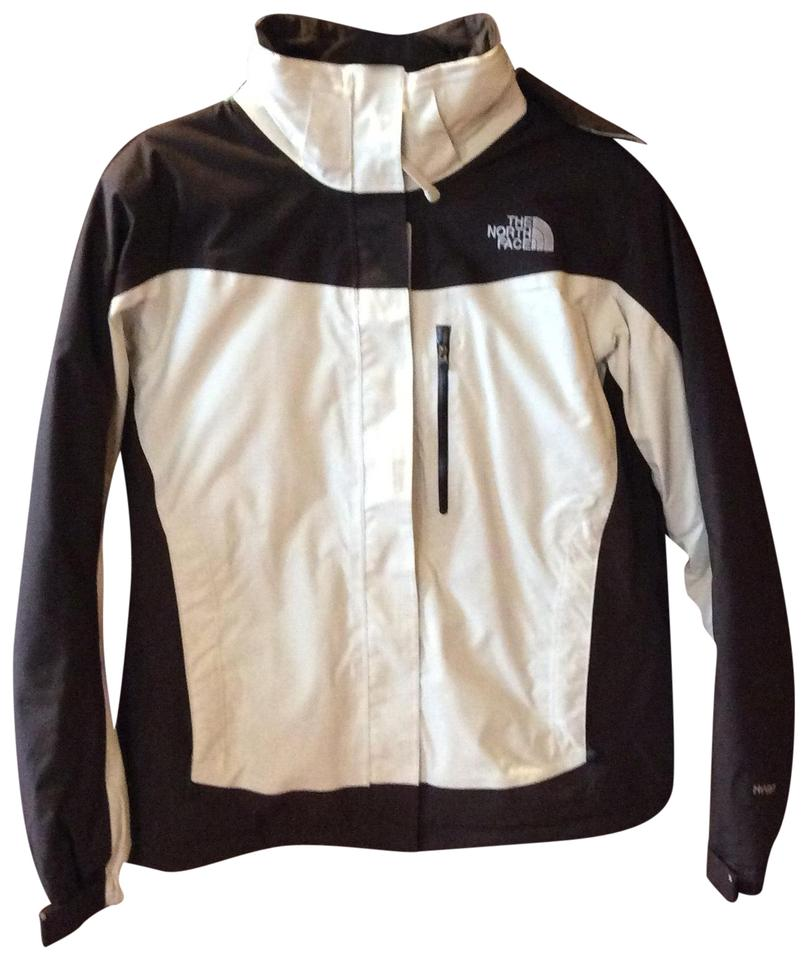 1e8d0ad3921a The North Face Chocolate Brown and Cream Hyvent Jacket Coat Size 8 ...