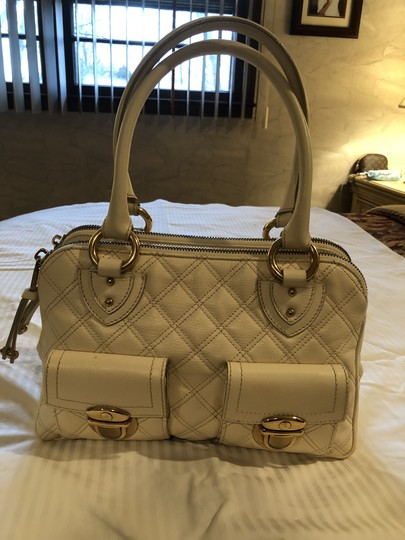 Marc Jacobs Satchel in White chiffon Image 1