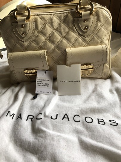 Marc Jacobs Satchel in White chiffon Image 10