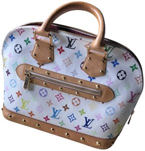 Louis Vuitton Made In France Tote in white