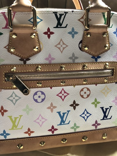 Louis Vuitton Made In France Tote in white Image 8
