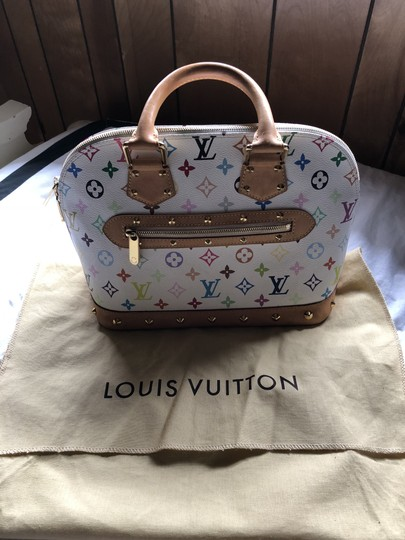 Louis Vuitton Made In France Tote in white Image 9