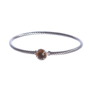 David Yurman Chatelaine Bracelet with Citrine 3mm Size Medium $325 NWOT