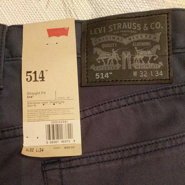 Levi's Straight Leg Jeans-Distressed Image 1
