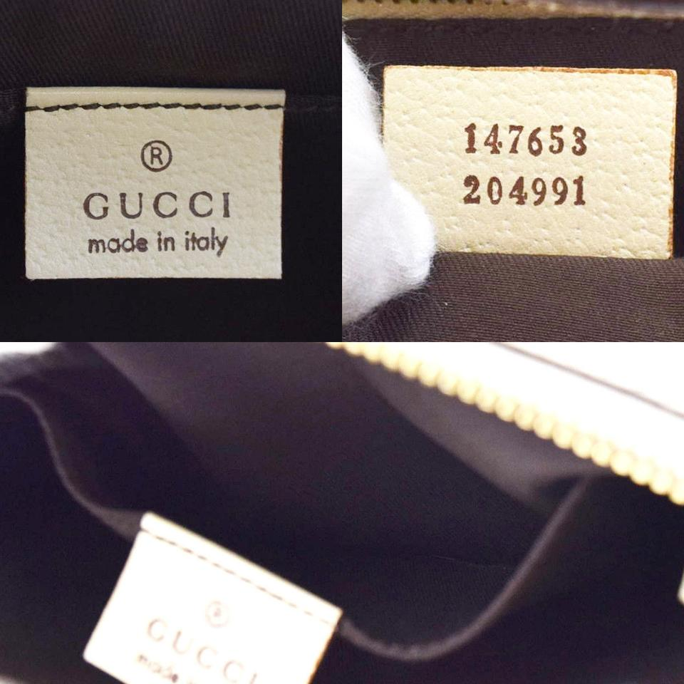 Gucci Ivory Leather Shoulder Bag Tradesy