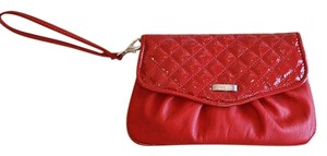 Grace Adele Shoulder Day To Night Day-to-night Work Travel Purse Ruby Scarlet Blood Faux Leather Convertible Multi-function Multi Red Clutch