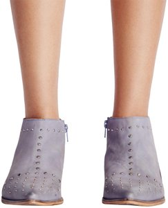 Free People Blue/Gray Boots