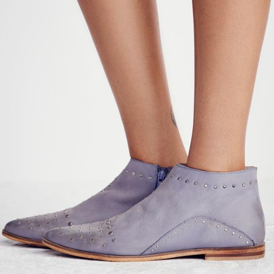 Free People Blue/Gray Boots Image 1