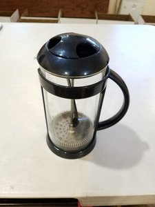 Blue Coffee Brewer Handheld Filter Scoop Included Midnight 3 Cups Cookware