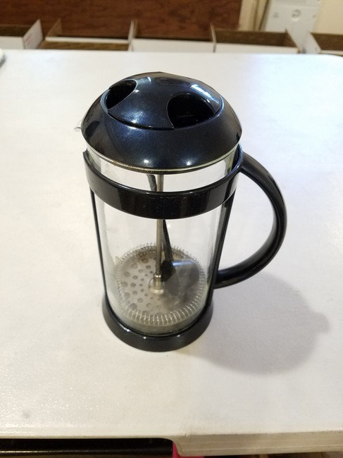 Item - Blue Coffee Brewer Handheld Filter Scoop Included Midnight 3 Cups Cookware