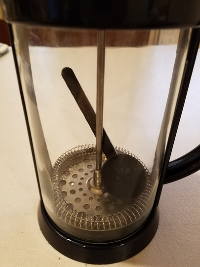 Blue Coffee Brewer Handheld Filter Scoop Included Midnight 3 Cups Cookware Image 1