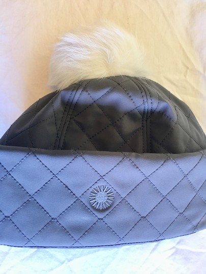 UGG Australia Water Resistant Quilted Hat with Genuine Shearling Pompom Image 2