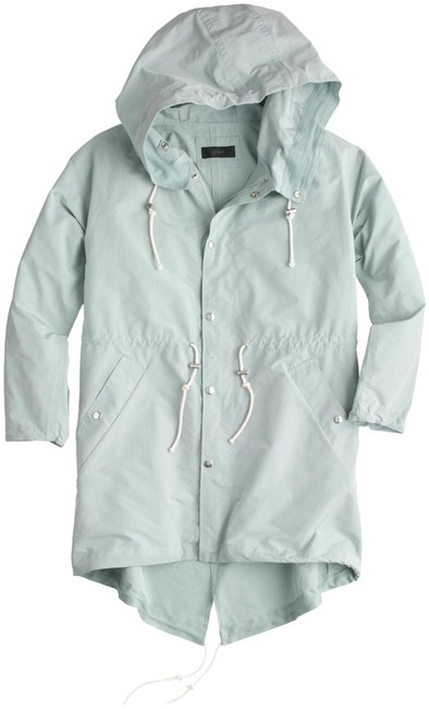 Preload https://img-static.tradesy.com/item/22821943/jcrew-mint-cotton-nylon-anorak-jacket-size-0-xs-0-1-650-650.jpg