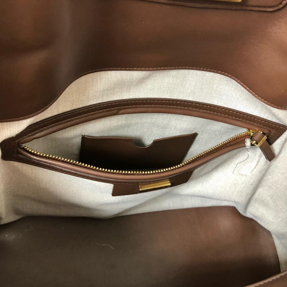 a706d1ac3768 The Row Carry All Bag. Sophisticated Opportunity Brown Leather Tote ...