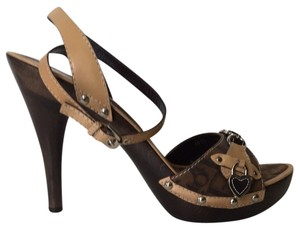 Dior Brown & Biege Sandals