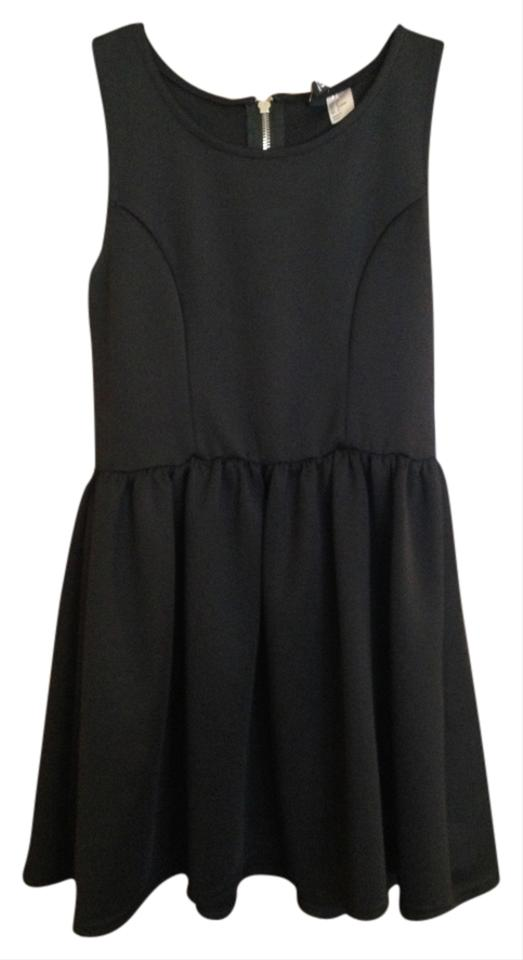 5aec3e007022 H&M Black Perfect Little Above Knee Cocktail Dress Size 8 (M) - Tradesy