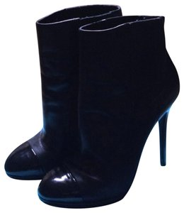 Brian Atwood black leather Boots