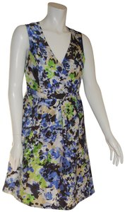 Evan Picone Floral Modest Church Dress
