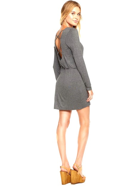 Preload https://img-static.tradesy.com/item/22822553/chaser-grey-cross-back-mini-short-casual-dress-size-4-s-0-0-650-650.jpg