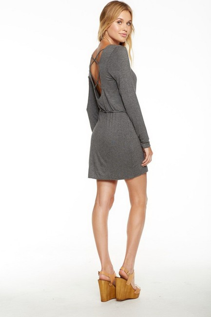 Chaser short dress grey on Tradesy Image 2