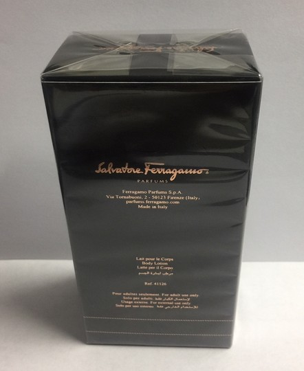 Salvatore Ferragamo SALVATORE FERRAGAMO Signorina Misteriosa body lotion 6.7 Oz./200ml NEW Image 2