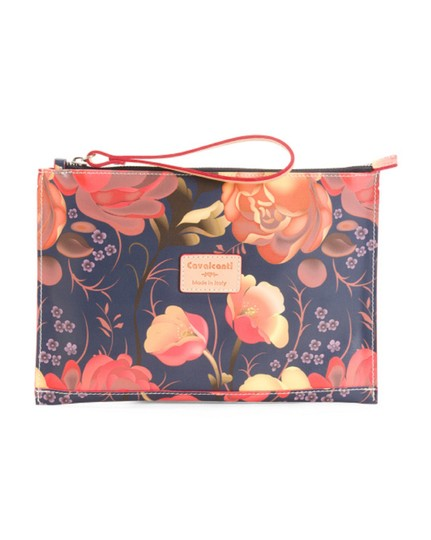 Preload https://img-static.tradesy.com/item/22822926/cavalcanti-made-in-italy-rose-clutch-multicolor-leather-wristlet-0-0-540-540.jpg