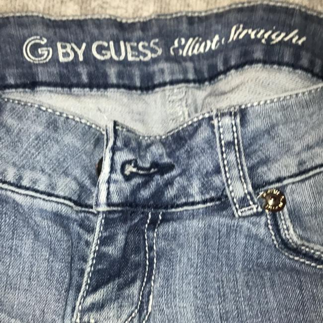 Guess Straight Leg Jeans-Medium Wash Image 3