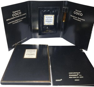 Chanel CHANEL COCO creme Eau de parfum sample lot 4 each is 1,5 ml 0.05 X4