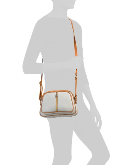 Valentina Brown Leather Cross Body Bag Image 1