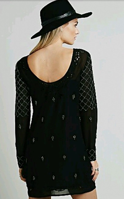 Free People Beaded Sexy Date Dress Image 1