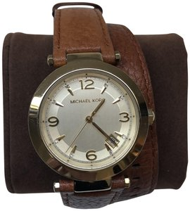 Michael Kors Michael Kors Womens Slim Runway Double Wrap Watch Mk2390