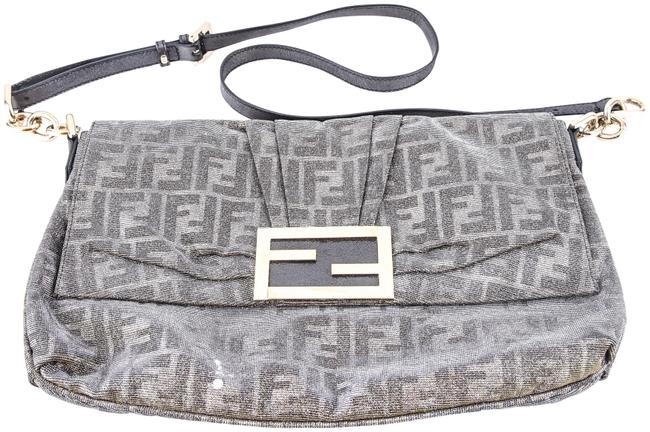 Item - Silver Shimmer Canvas Shoulder Bag