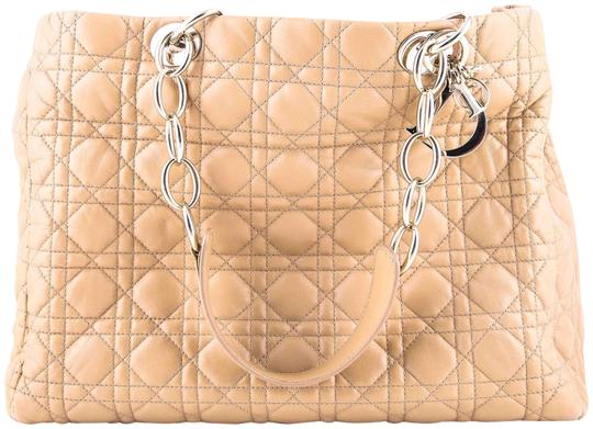Preload https://img-static.tradesy.com/item/22823748/dior-christian-quilted-beige-tote-0-1-540-540.jpg