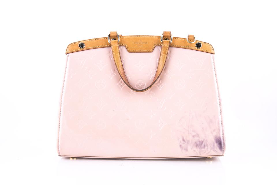 f2cad96bb8bbb Louis Vuitton Brea Vernis   Rose Ballerine Shoulder Bag - Tradesy