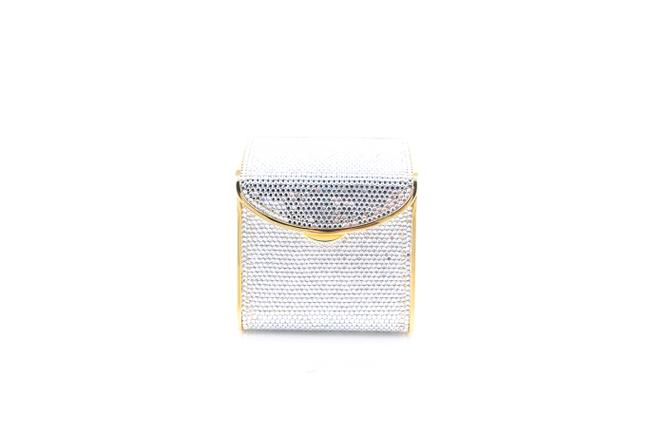 Item - Box Crystal * Silver Cross Body Bag