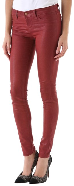 Item - Red Coated Super 901j601 Skinny Jeans Size 27 (4, S)