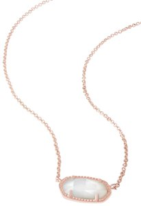 Kendra Scott Brand New Kendra Scott Elisa Necklace in Mother of Pearl Rose Gold
