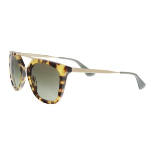 Prada Prada Military Havana/Green Aviator Sunglasses