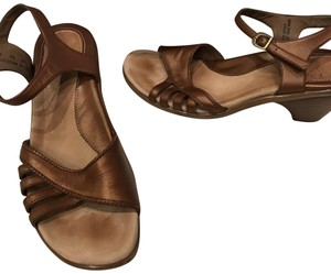 Dansko bronze Sandals