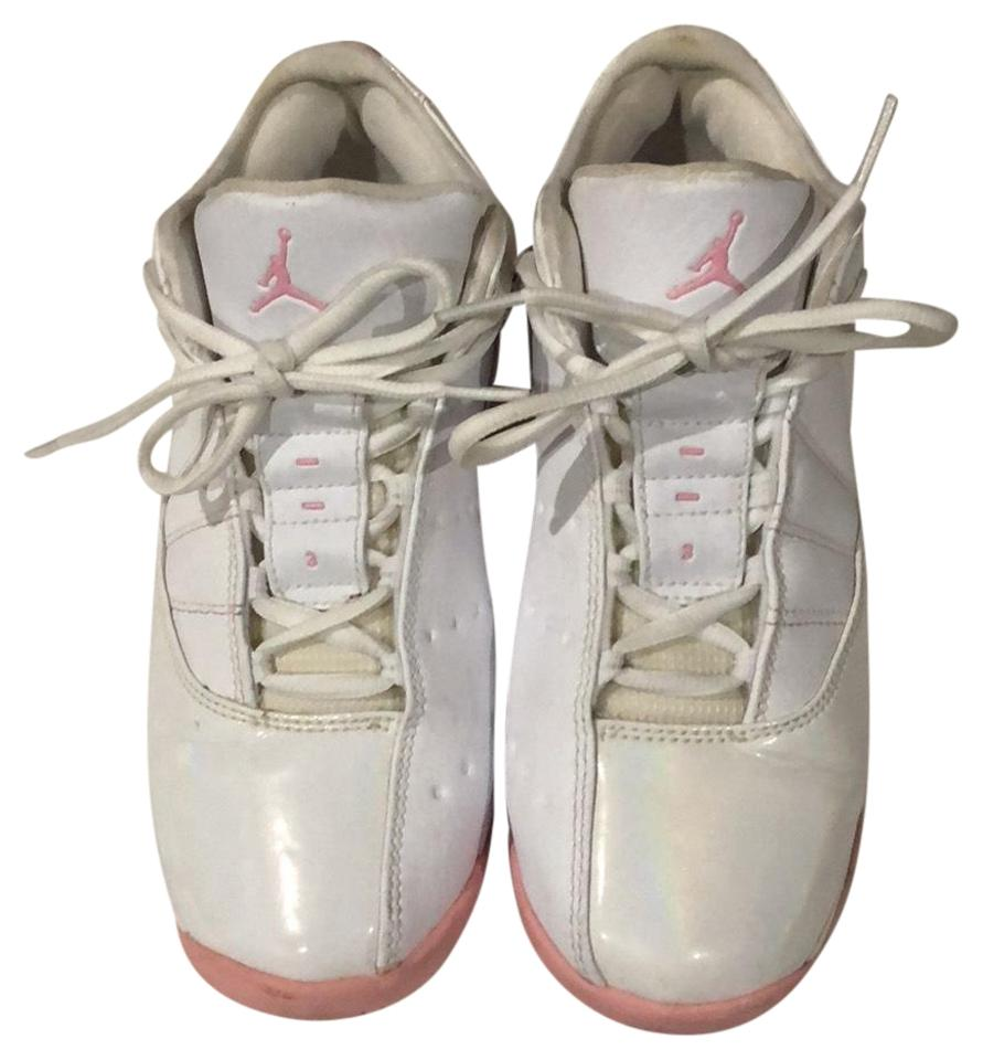 badb7236a52 ... available 9629b 1ca47 Air Jordan Pink and White Sneakers Size US 6  Regular (M