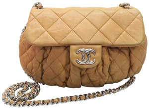 Chanel Mssenger Chain Around Calfskin Cross Body Shoulder Bag