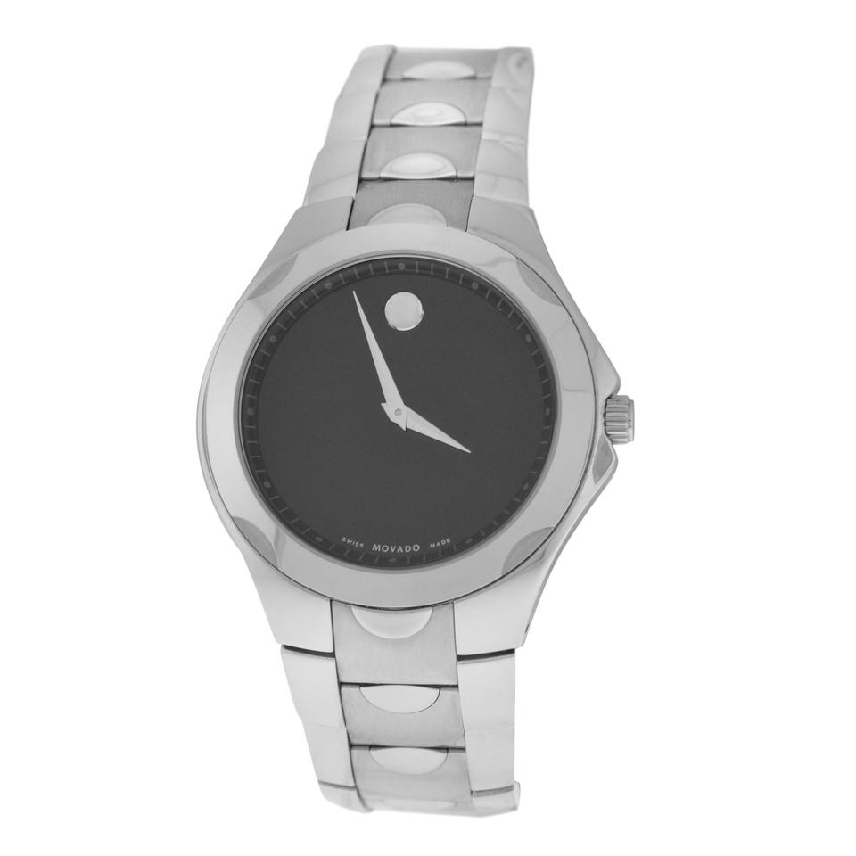 watch tone men watches two sport dial black luno s movado