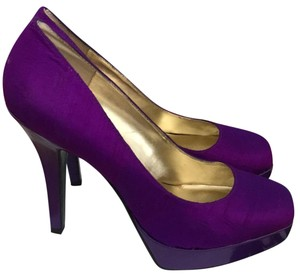 Nine West purple Platforms