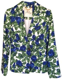 Molly New York Molly New York Jacket multi-color blue white green size 2-4 NEW