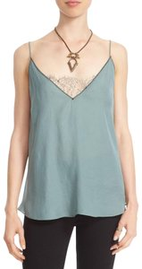 Free People Camisole Lace Lace Intimate Lace Top Olive Green