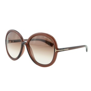 Tom Ford New Candice FT9276 Gradient Oval Oversized Sunglasses 59mm