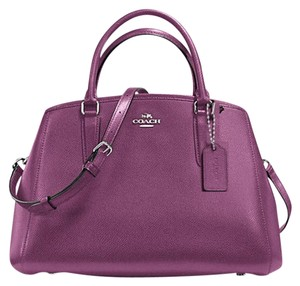 Coach Margot Satchel in mauve