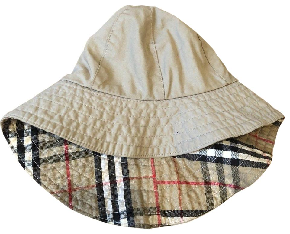 31128d6f1b8 Burberry BURBERRY VINTAGE TRENCH RAIN HAT WITH ICONIC PLAID LINING-ONE SIZE  S Image 0 ...